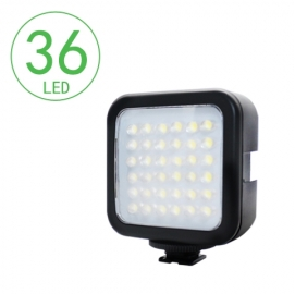 kingbest 36 led video light smartphone holder